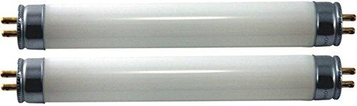 Linear Fluorescent Tube (EiKO F4T5D Model F4T5/D High Output Linear Fluorescent (2-Pack), 4 Watts, G5 Base, T-5 Bulb, 6.0