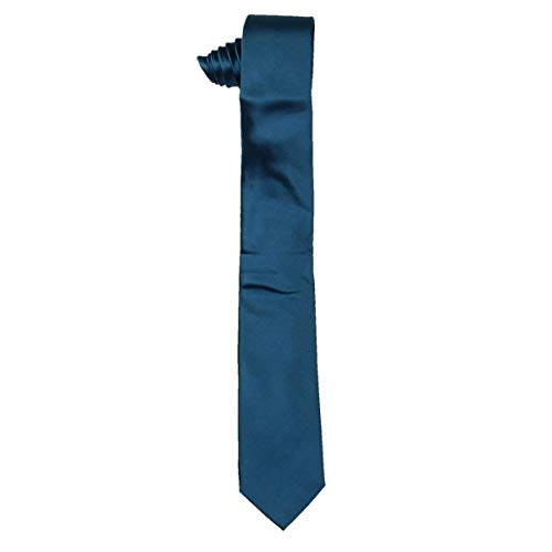 Alfani Mens Silk Slim Neck Tie Blue O/S Alfani Mens Silk Tie