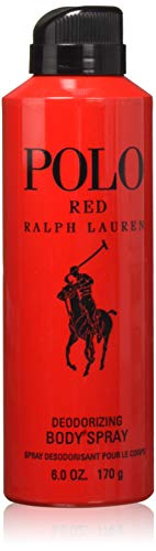 - Ralph Lauren Polo Red Body Spray for Men, 6 Ounce