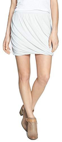(Free People Women's Twisted Bubble Skirt Oatmeal Combo Small (Women's 4-6))