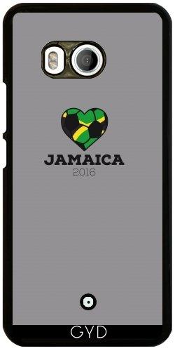 Funda para Htc U11 - Camisa Del Fútbol De Jamaica 2016 by ilovecotton