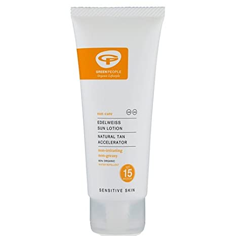 Green People Sun Lotion SPF15 with Tan Accelerator (200Ml) Green People Ltd GP-G001