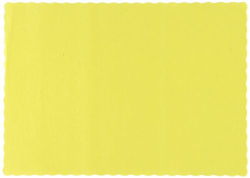 Edge Paper Placemat (Hoffmaster 310553 Paper Placemat, 13-1/2
