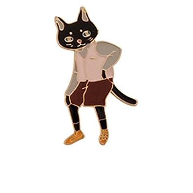 Topdo 1 pcs Gato Broches de Bisuteria La Moda Regalo Fiesta Brochetas Chuches Comunion: Amazon.es: Joyería