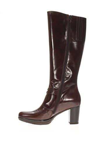 Negro Giardini–Zapatos Mujer Botas Plateau a616412d-300Bota con Plateau tacón 7cm T.moro