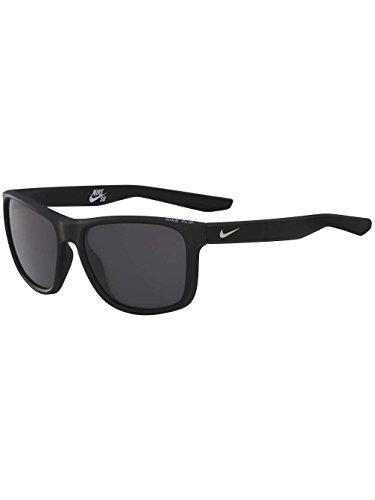 Sunglasses NIKE FLIP P EV1041 001 MATTE BLACK W/GREY POLARIZED - Warranty Nike Sunglasses