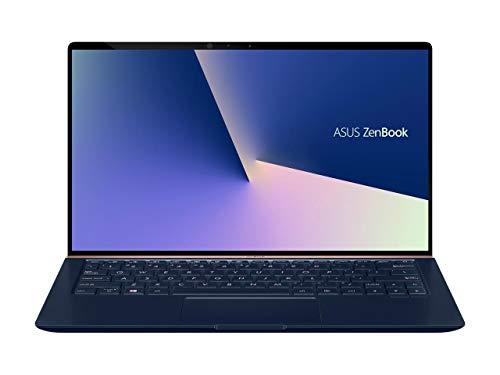 "ASUS ZenBook 13 Ultra-Slim Durable Laptop 13.3"" FHD WideView, Intel Core i7-10510U, 16GB RAM, 512GB PCIe SSD, NumberPad, Windows 10 Pro, UX333FAC-XS77, Royal Blue"