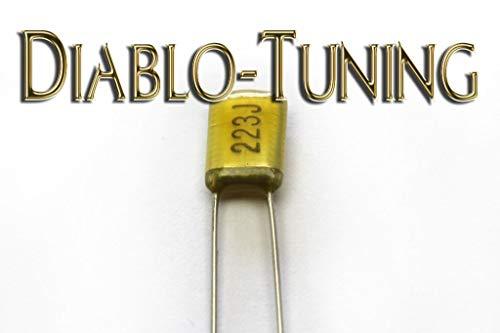 Capacitor Tone Control - 022uF 50V ± 5% Polyester Film Capacitor - for Guitar Tone Control/Pot Upgrade