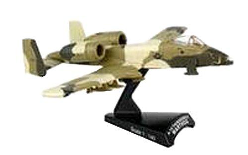 Daron Postage Stamp A-10 Warthog Peanut Scheme USAF Vehicle (1/140 Scale) (Model A10 Warthog Diecast)