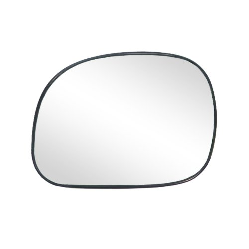 Fit System 88034 Ford/Lincoln Left Side Manual/Power Replacement Mirror Glass with Backing ()
