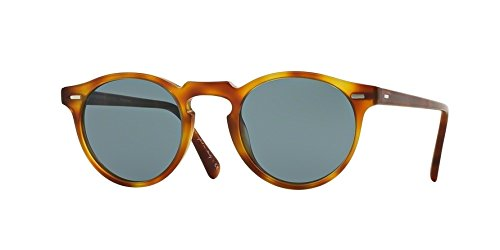 Oliver Peoples 5217 1483R8 Écaille Gregory Peck Sun Round Sunglasses Lens Category 3