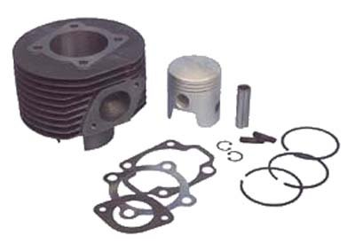Harley Davidson/Columbia 2 Cycle Golf Cart Part Cylinder kit Complete 1967-1981 (Harley Davidson Golf Cart Engine Rebuild Kit)