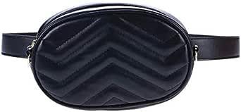 Waist Belt Baguette Bag - Black - Women from SWDf