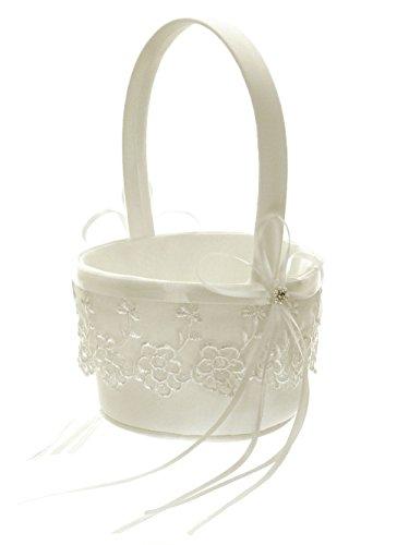 Crystals Flower Girl Basket - 7