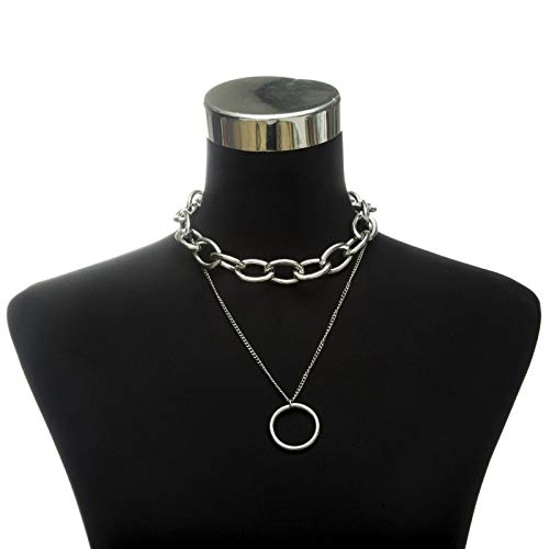 Necklace PadLock chain necklace women men chunky chain with lock Pendant Necklaces punk Hiphop 2019 fashion gothic jewelry