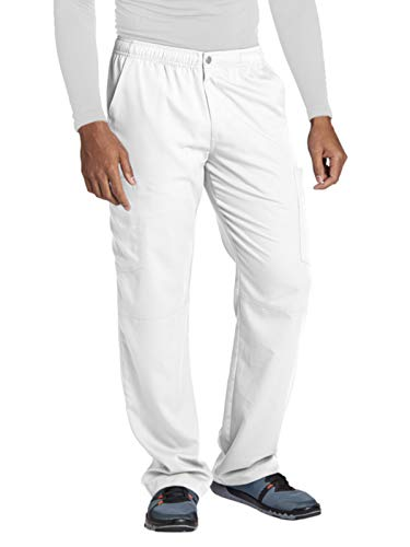 - Grey's Anatomy Active 0215 Men's Cargo Pant White L
