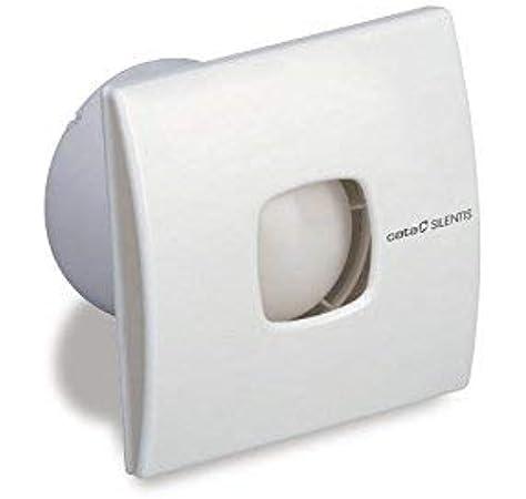 CATA SILENTIS 10 Blanco - Ventilador (Blanco, Techo, Pared, De plástico, 37 dB, 2500 RPM, 98 m³/h): Amazon.es: Bricolaje y herramientas