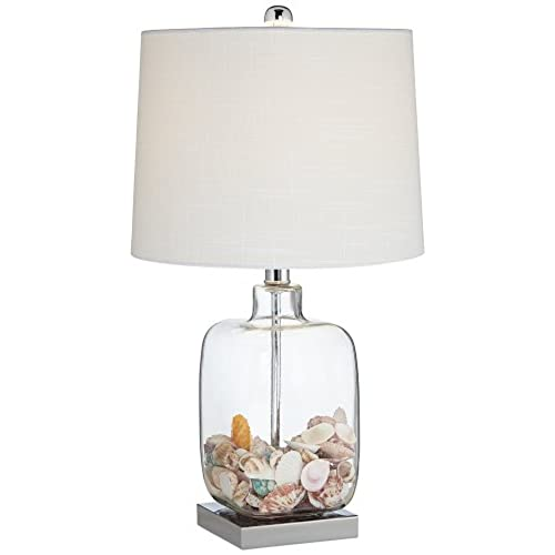 Glass table lamps amazon square glass 21 34 high fillable table lamp aloadofball Images