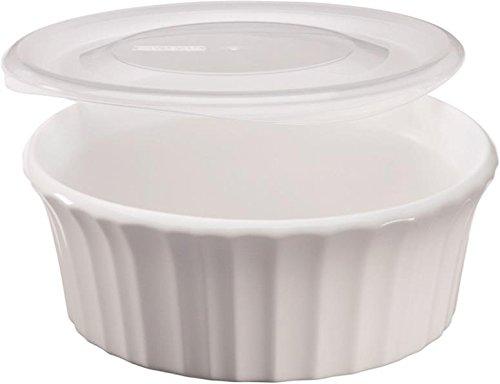 White 16 Oz Round Dish - 5