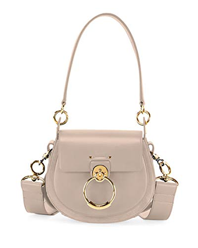 627a0699ad7 Chloe Tess Small Leather Suede Camera Crossbody Bag made in Italy   Handbags  Amazon.com
