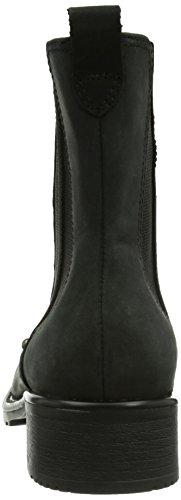 Clarks Orinoco Hot - Botas Mujer Black Wlined Leather