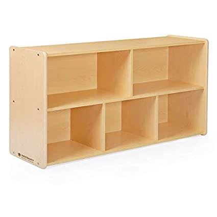 Terrific Amazon Com Guidecraft 5 Compartment Storage Shelves 24 Download Free Architecture Designs Salvmadebymaigaardcom
