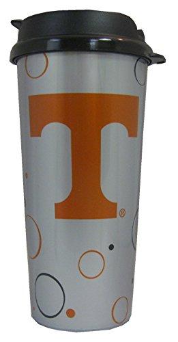 (GameDay Novelty NCAA Tennessee Volunteers Circle Dot Travel Mug, 16 oz.)