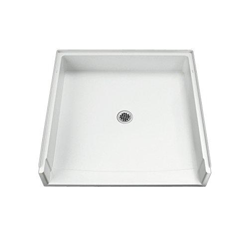 スターリング配管62051100 – 0 39-inchシャワーベースVikrellセンターDrain ,ホワイト B002GXXFPQ