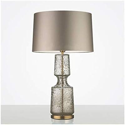 1. Lámpara de mesa American Fashion Glass Art Lámpara de ...