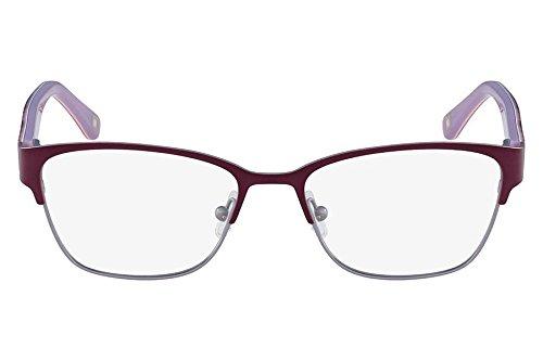 Óculos De Grau Marchon Nyc M-Amada 513/52 Roxo