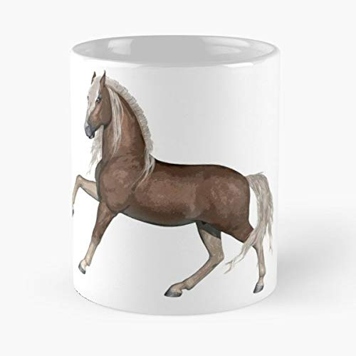 Catherine Veal Palomino Horse Pony - 11 Oz Coffee Mugs Ceramic,the Best Gift For Holidays. ()