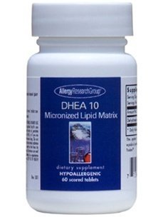 Allergy Research Group DHEA 10 Micronized Lipid Matrix - 60 Scored Tablets