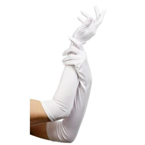 DreamHigh Womens 22 inches Finger Mittens Over Elbow