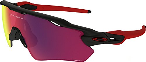 Oakley Boys' Radar Ev Xs Path Rectangular Sunglasses, Matte Black, 31 - Sunglasses Kids Oakley