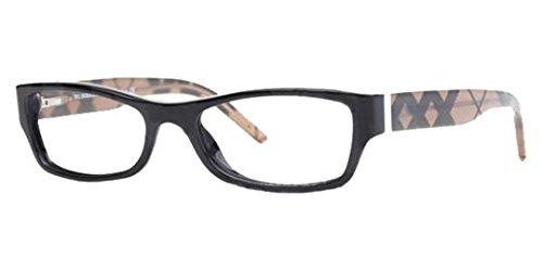 135 Black Eyeglasses (Burberry Eyeglasses BE2094 3346 Black 54 17 135)