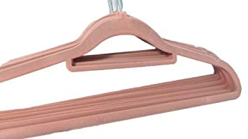 Kleiderbügel Beflockt neu mit rosa rutschfeste kleiderbügel hosenbügel kleiderbügel
