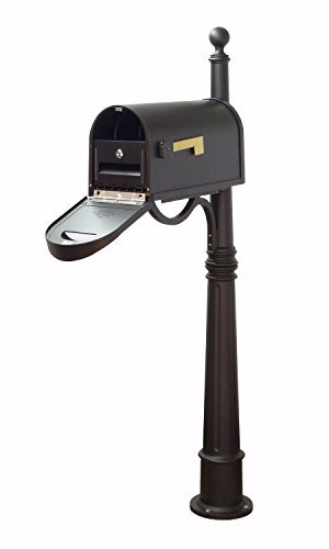 Special Lite Products Company Classic Curbside Mailbox With Locking Insert And Ashland Mailbox (Special Lite Classic Curbside Mailbox)