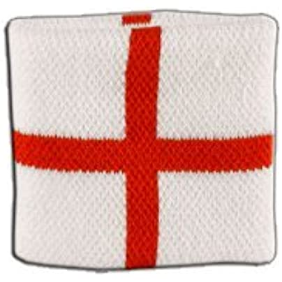 Digni reg England St George Wristband sweatband Set pieces free sticker Estimated Price £6.95 -