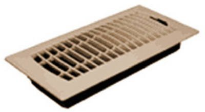 Imperial Mfg Group Usa RG1478 4 x 10-Inch Plastic Almond Contemporary Floor Register - Quantity 9 by Imperial Mfg Group Usa Contemporary Almond