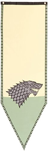 Game of Thrones- Stark Winterfell Tournament Banner Fabric Poster 19 x - Calhoun Outlet Stores