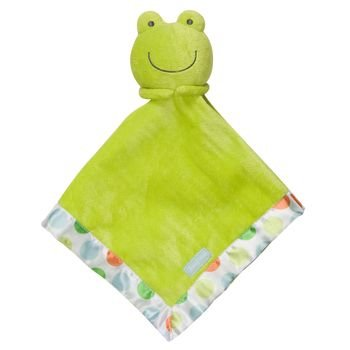 - Carter's Green Frog Snuggle Buddy Security Blanket with Polka Dots