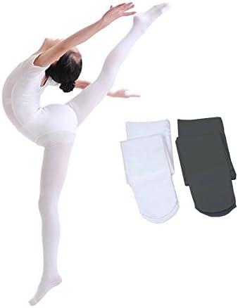 Vellette Collant da Balletto 2 Paia Calze da Danza per Ragazze