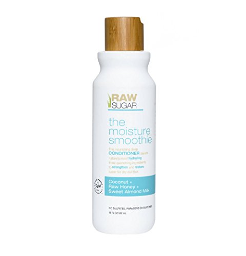 Raw Sugar The Moisture Smoothie Coconut + Raw Honey + Sweet Almond Milk Conditioner 18 fl oz , pack of 1