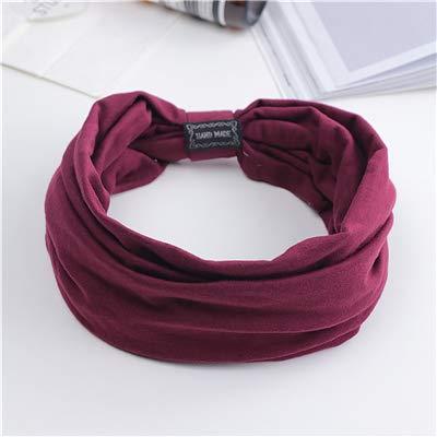 Amazon.com : Floral Print Turban Knot Headwrap Sports ...