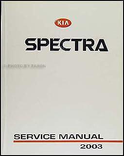 2003 kia spectra repair shop manual original kia amazon com books rh amazon com 2003 kia spectra service manual 2003 kia spectra repair manual online