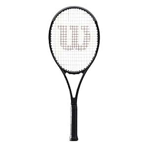 "Wilson Pro Staff 97 Countervail (CV) Black Tennis Racquet (4 1/4"" Grip) strung with Black Tennis String"