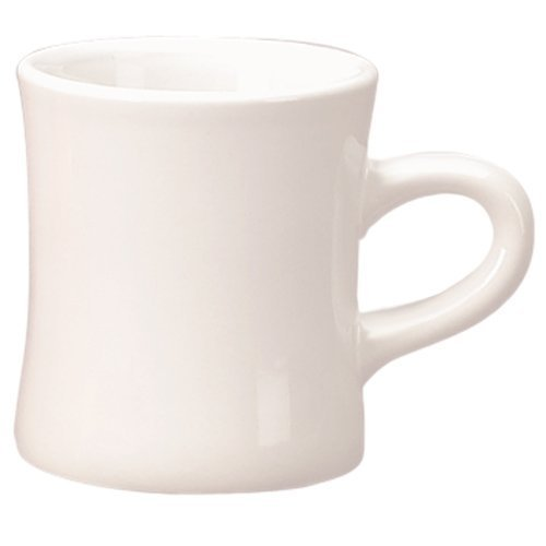 Classic Diner Mugs - White - 4 Pack - 10 ounce (Mug Classic Coffee White)