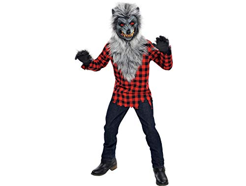 Party City Hungry Howler Werewolf Halloween Costume for Boys, Extra Large, with Included Accessories ()