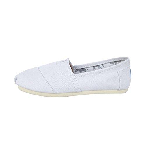 Semelle Unisex De Espadrilles Chenyang Tressée En Mode Cousue Marche Corde Chaussure Toile Blanc 8Ua6qaw5