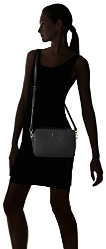 Lacoste NF2068CE, Bolso Bandolera para Mujer, 16 x 5.5 x 24 cm BLACK (Black)